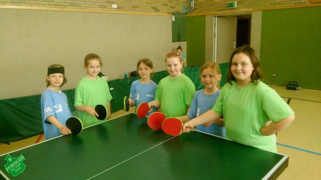 Alle sechs Spielerinnen traten mit großer Vorfreunde zum Spiel an. Foto: Stefan Laagland