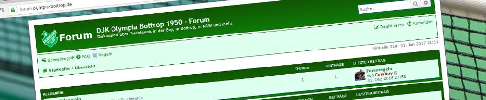 Olympia-Forum Header