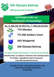 Plakat Aufstiegsrunde 2017