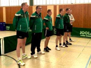 Relegation Herren II - Hassel Begrüßung