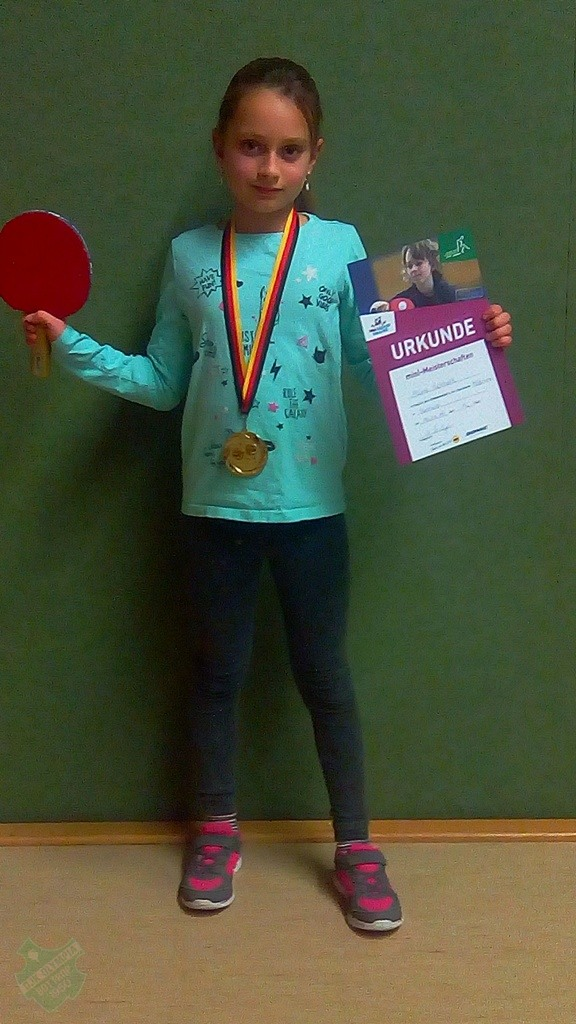 1. Platz Mädchen mini-Meisterschaften 2019 (Ortsentscheid) - Aliya Eickholt