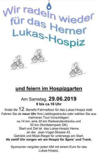 Flyer Lukas Hospiz 2019
