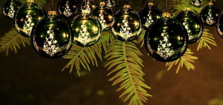 Weihnachtskugeln Header
