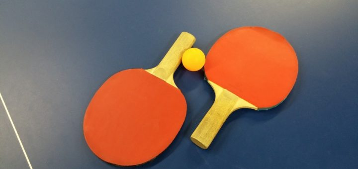 Tischtennisschläger Header
